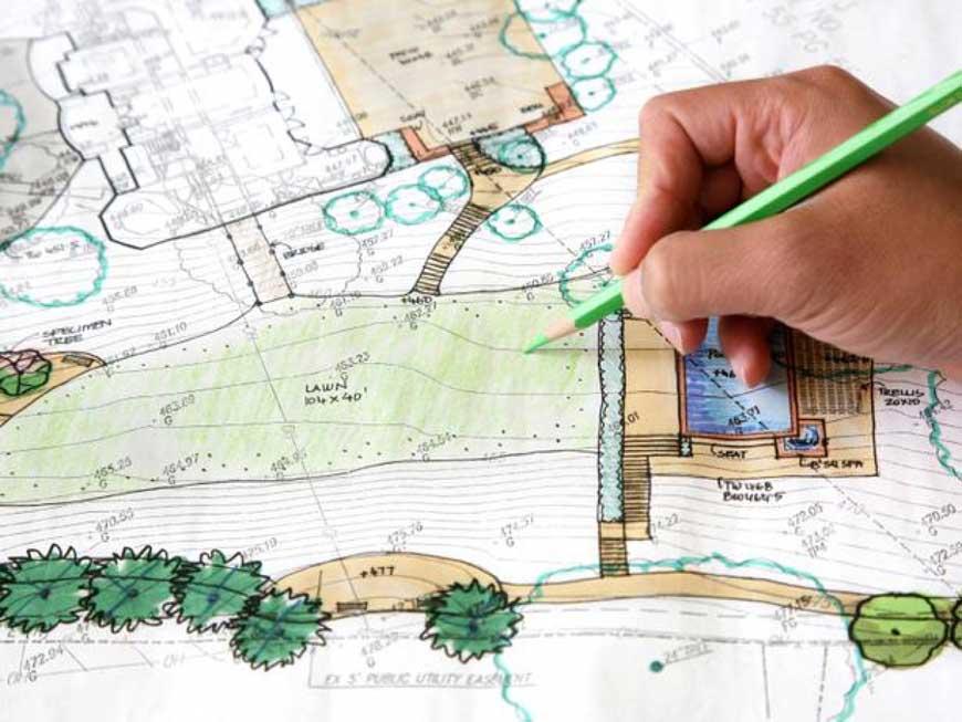 Разработка эскиза ландшафтного проекта