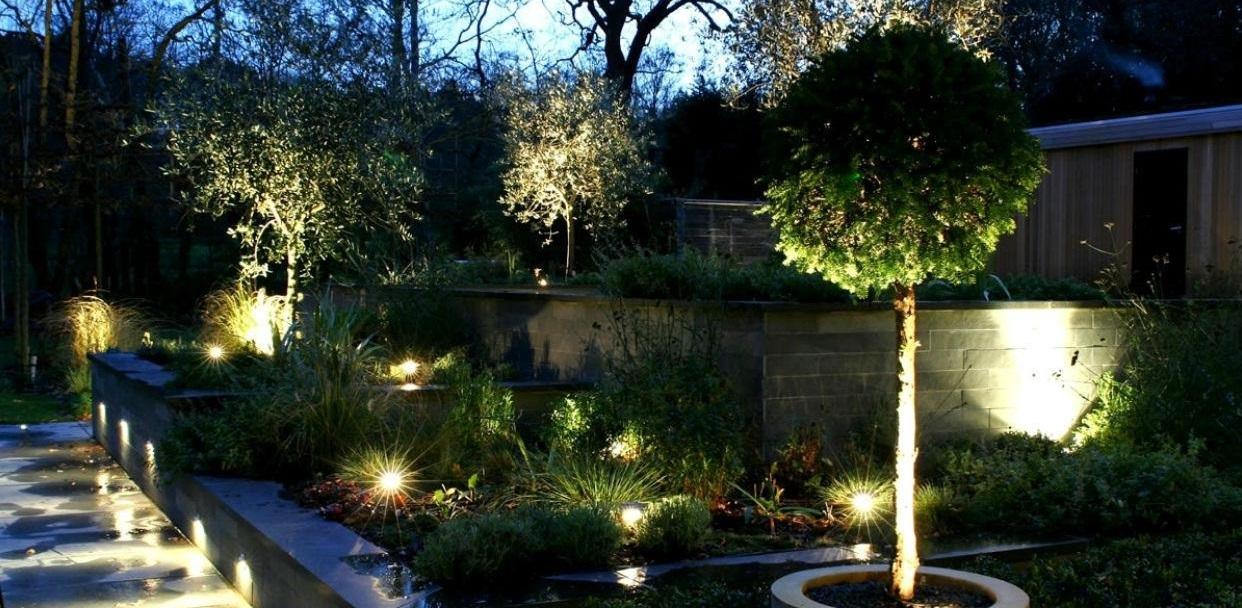 Проектирование освещения и декоративной подсветки участка