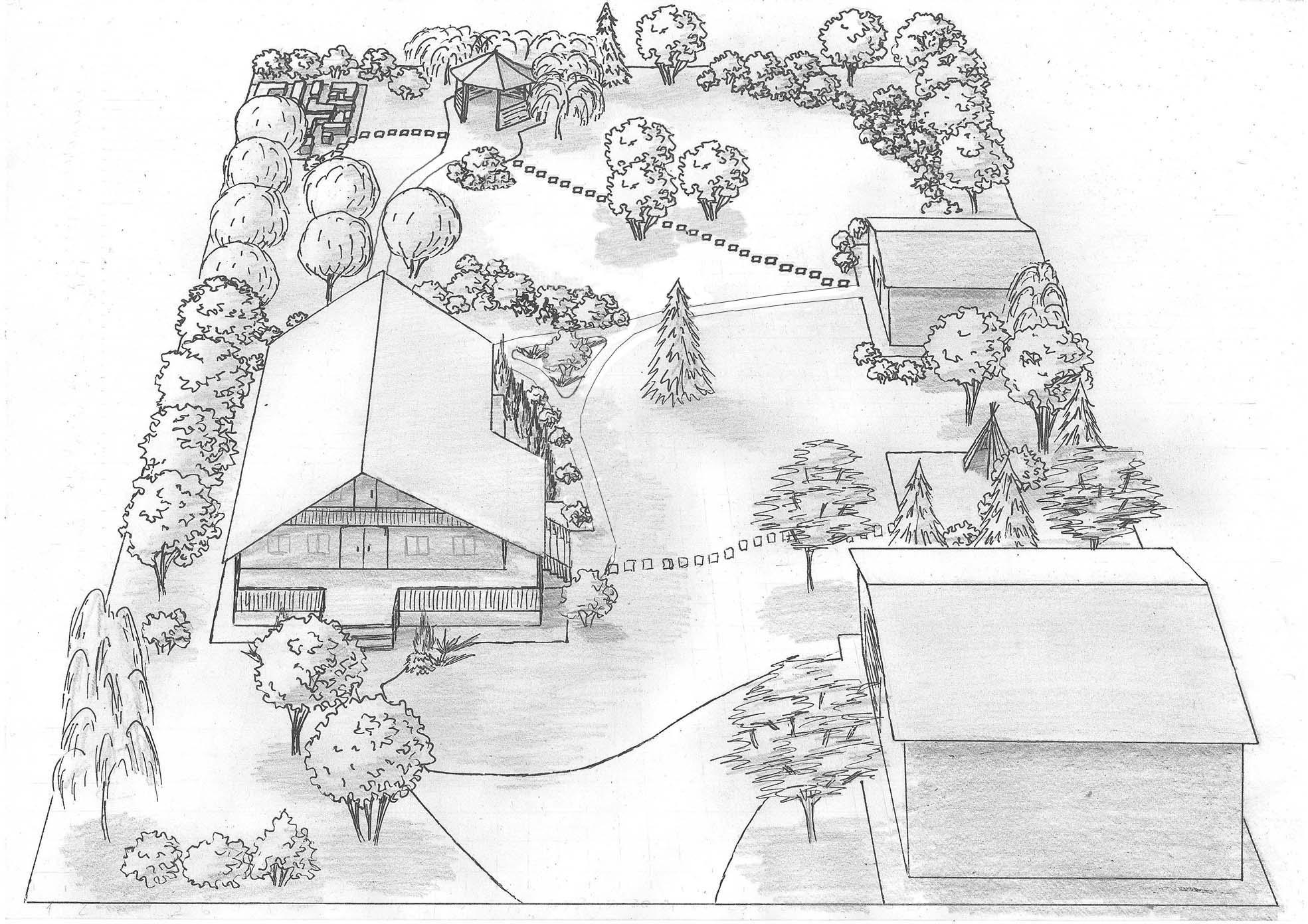 Проект благоустройства территории